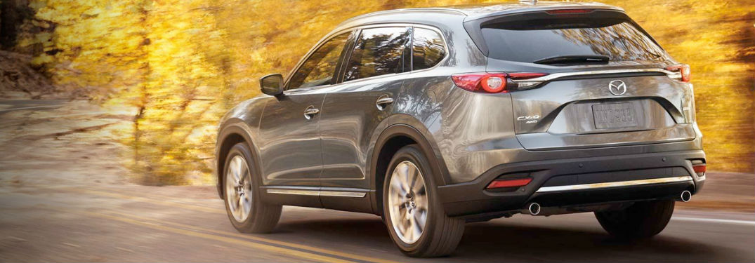 2019 Mazda CX-9 driving on a road