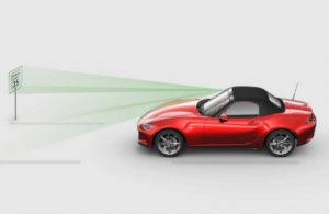 2019 Mazda MX-5 Miata Traffic Sign Recognition System
