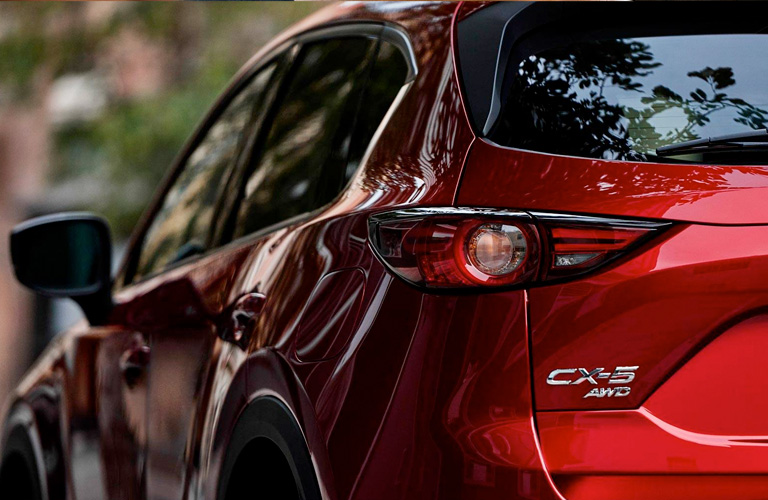 Rear of 2019 Mazda CX-5