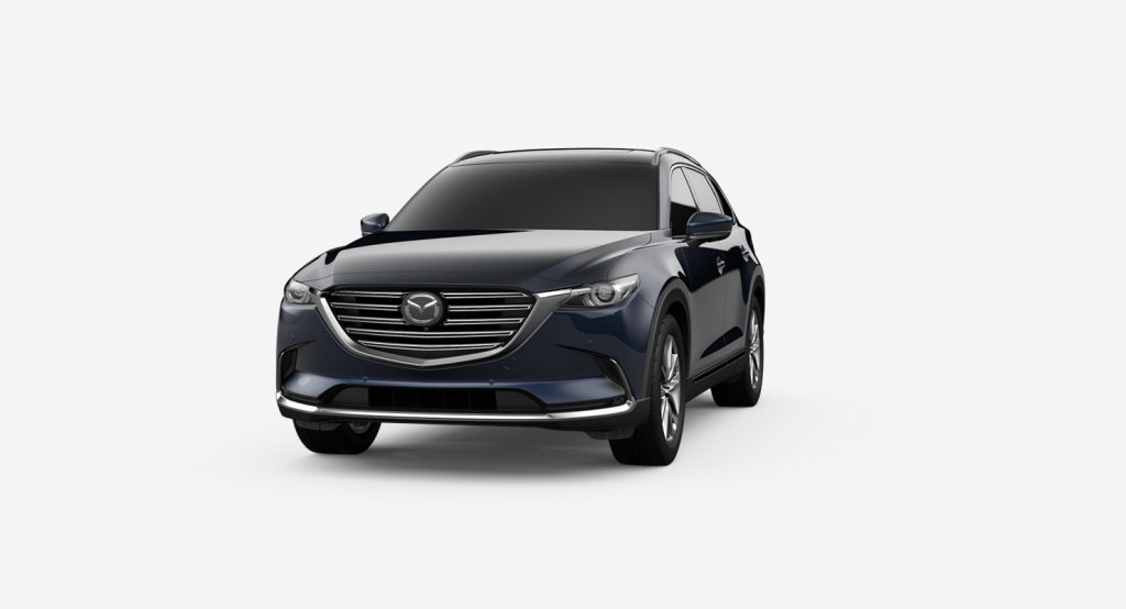 2019 Mazda CX-9 in Deep Crystal Blue Mica