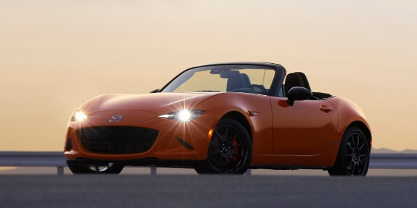 Orange 2019 Mazda MX-5 Miata 30th Anniversary
