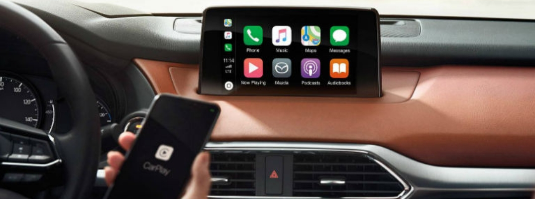 Setting Up Android Auto™ and Apple CarPlay™ in Your Mazda
