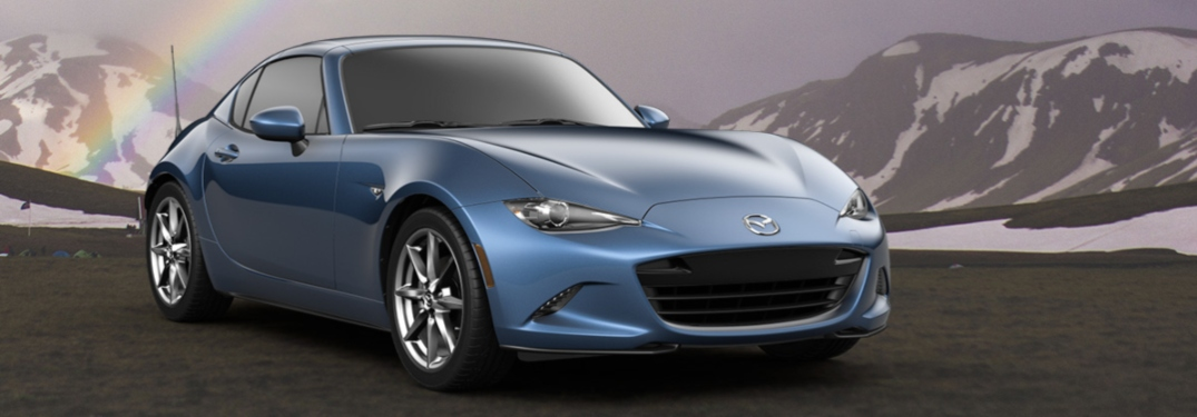 What color can I get a 2019 Mazda Miata RF in?