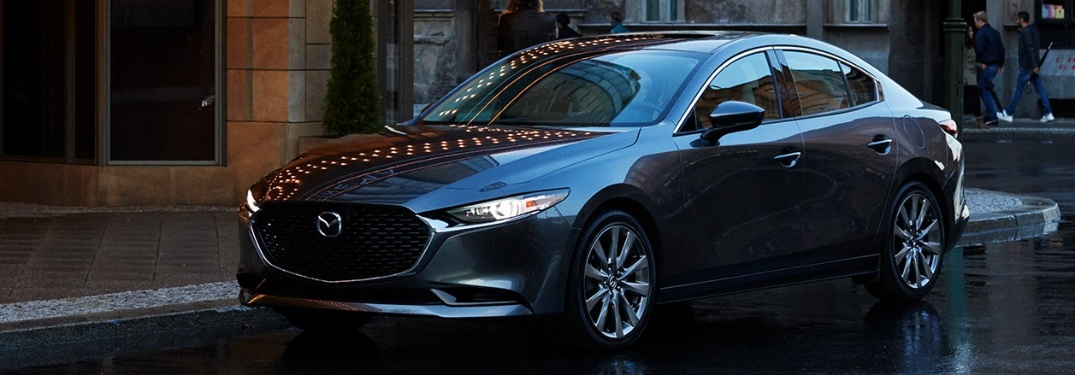 The new 2020 Mazda3 Sedan is safer than before!