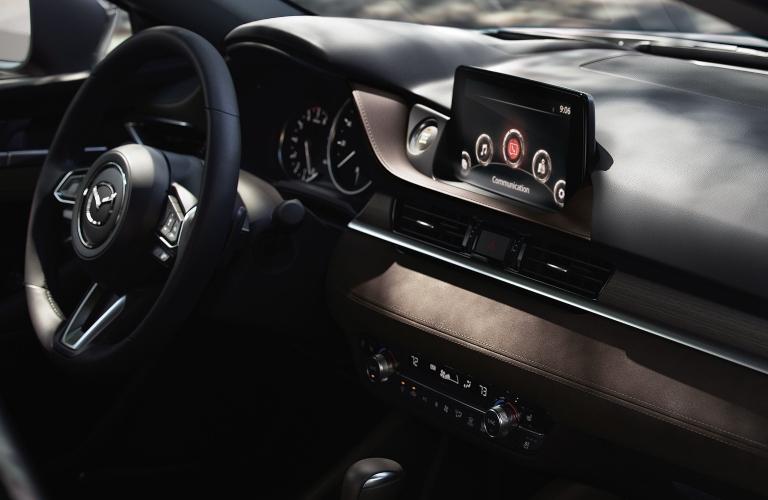 2020 Mazda6 Wheel and Display Screen