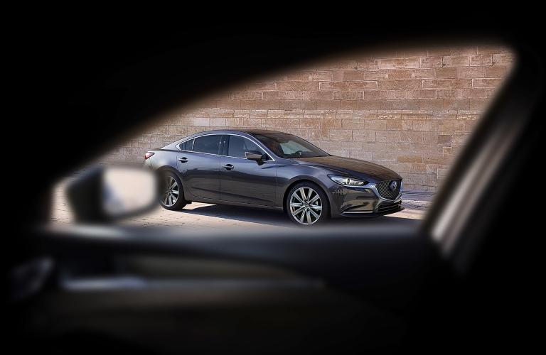 2020 Mazda6 through car window