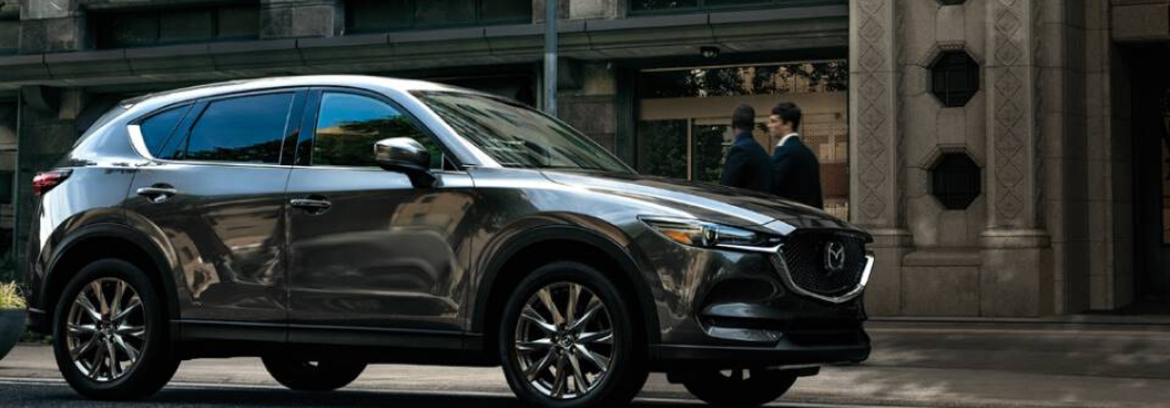 2020 Mazda CX-5 parked outside in road