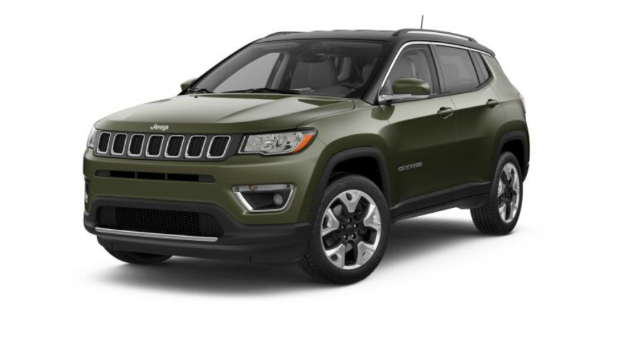 Color Options for the 2018 Jeep Compass