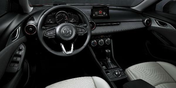 2019 Mazda CX-3 Steering Wheel, Dashboard and Touchscreen Display