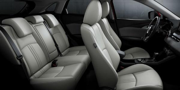 Cutaway View of 2019 Mazda CX-3 Passenger Space