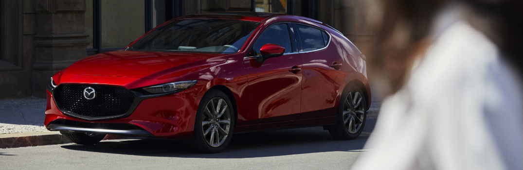2019 Mazda3 Exterior Driver Side Front Profile