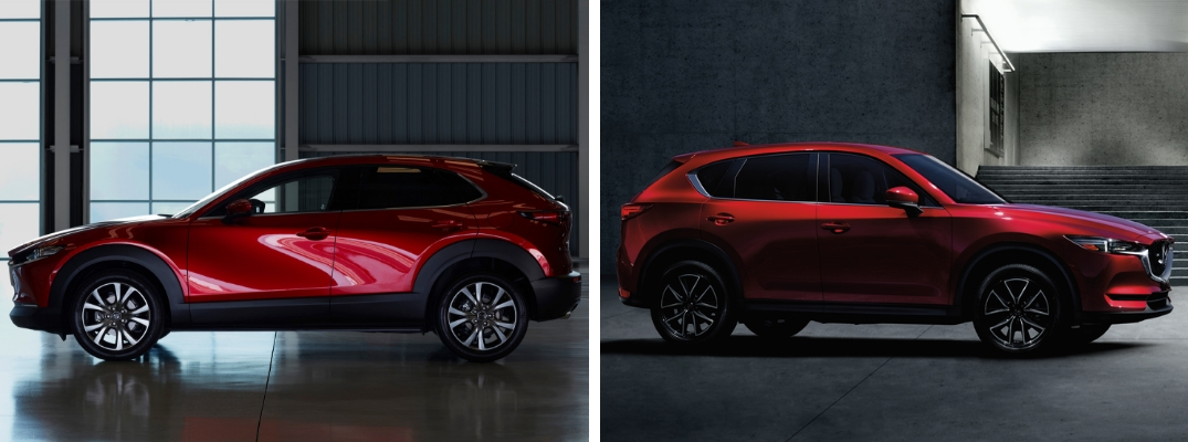 Differences Between The 2020 Mazda Cx 30 And The 2019 Mazda Cx 5