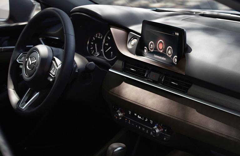 2020 Mazda6 Steering Wheel and Dashboard