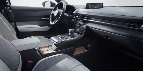 Mazda MX-30 Dashboard and Center Console
