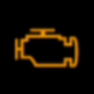 Yellow Check Engine Light from 2020 Mazda CX-5 Owner's Manual