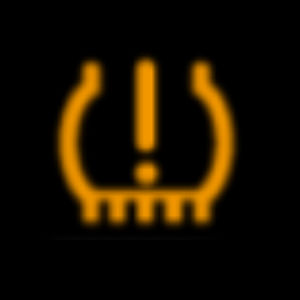 Yellow Low Tire Pressure System Warning Light from 2020 Mazda CX-5 Owner's Manual