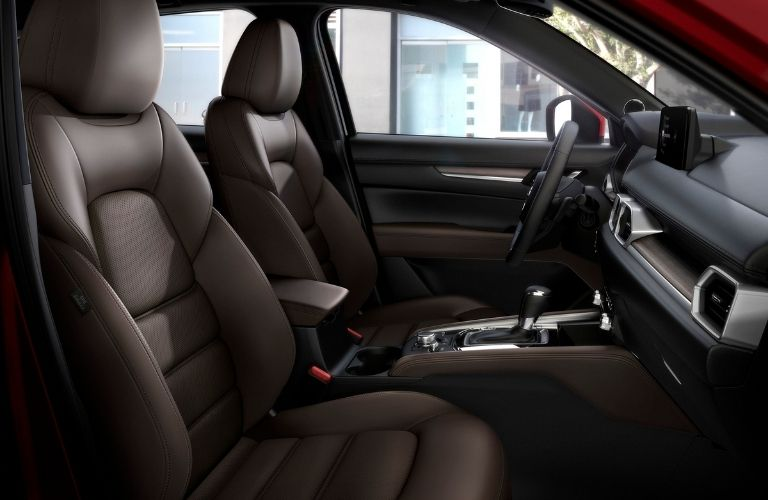 2021 Mazda CX-5 Nappa Leather Front Seats