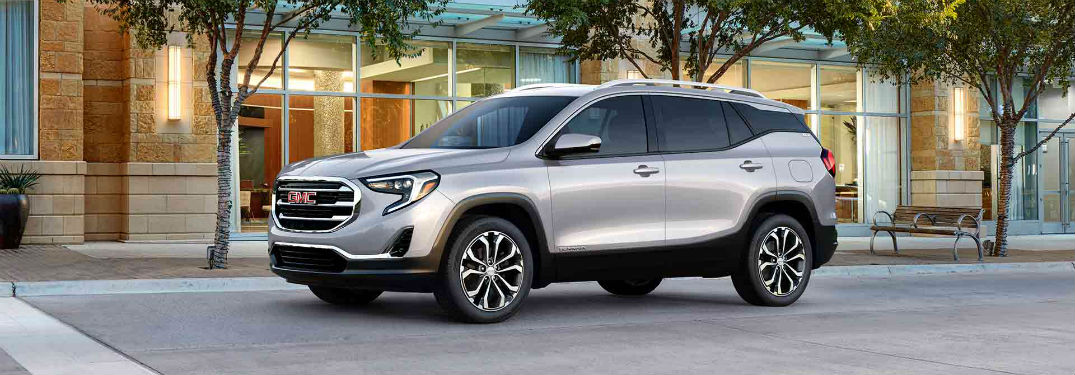 Driver's sid exterior view of the 2018 GMC Terrain