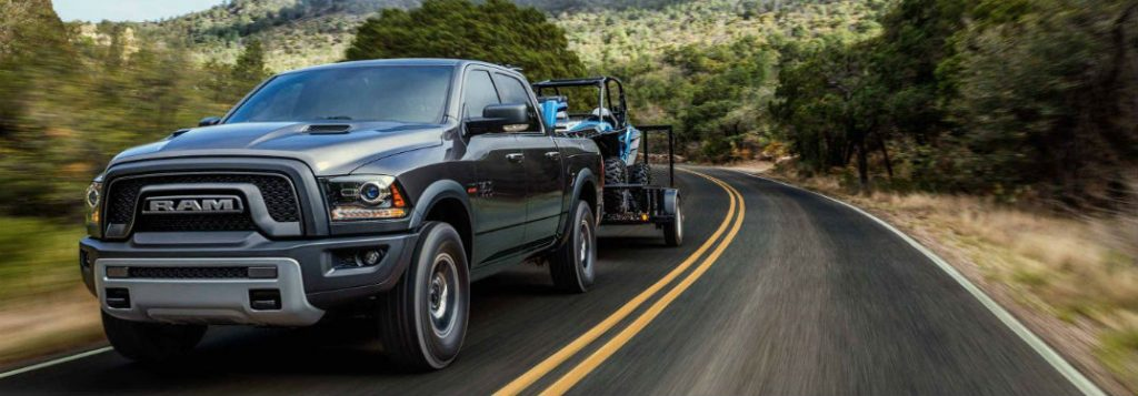 Show me the 2018 Ram 1500's Towing & Payload Specs