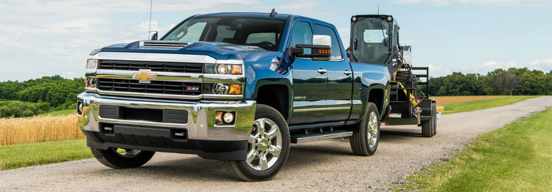 Silverado 2500 Towing Capacity >> Peek At The Payload Towing Specs Of The 2018 Chevy