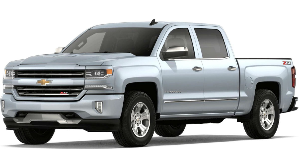What are the Color Options for the 2018 Chevy Silverado 1500?