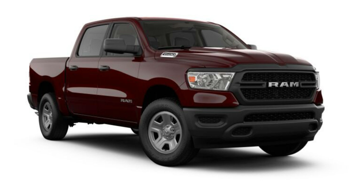 What are the Color Options for the 2019 Ram 1500?