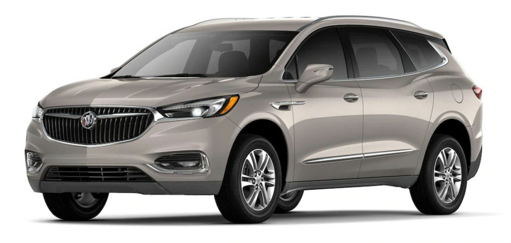 What Are The Exterior Color Options For The 2019 Buick