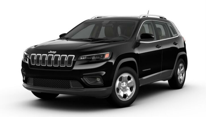 What Exterior Paint Color Choices are Available for the 2019 Jeep Cherokee?