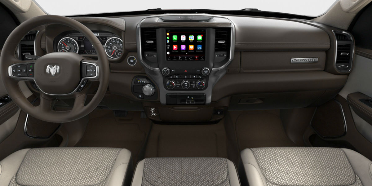 What Are The Interior Color Infotainment Options For The 2019 Ram