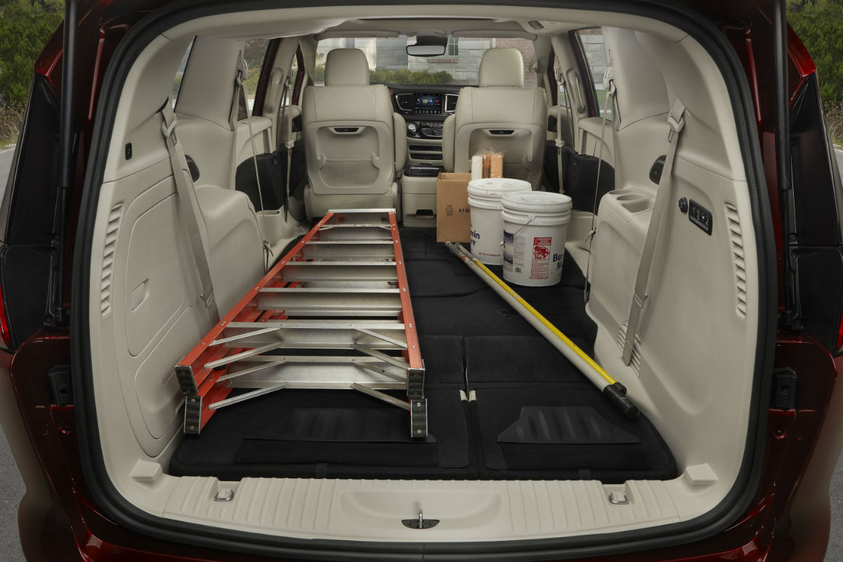 How Much Cargo And Passenger Space Does The 2019 Chrysler Pacifica Have