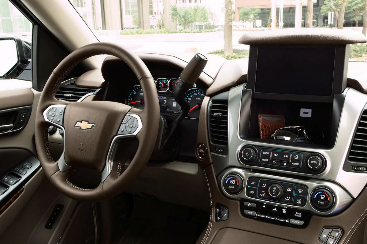 How Much Interior Space Does the 2019 Chevy Suburban Have?