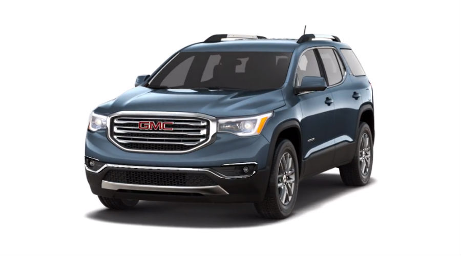 2019 GMC Acadia in Dark Sky Metallic
