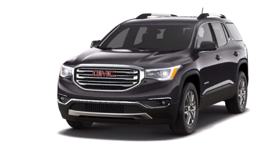 2019 GMC Acadia in Iridium Metallic
