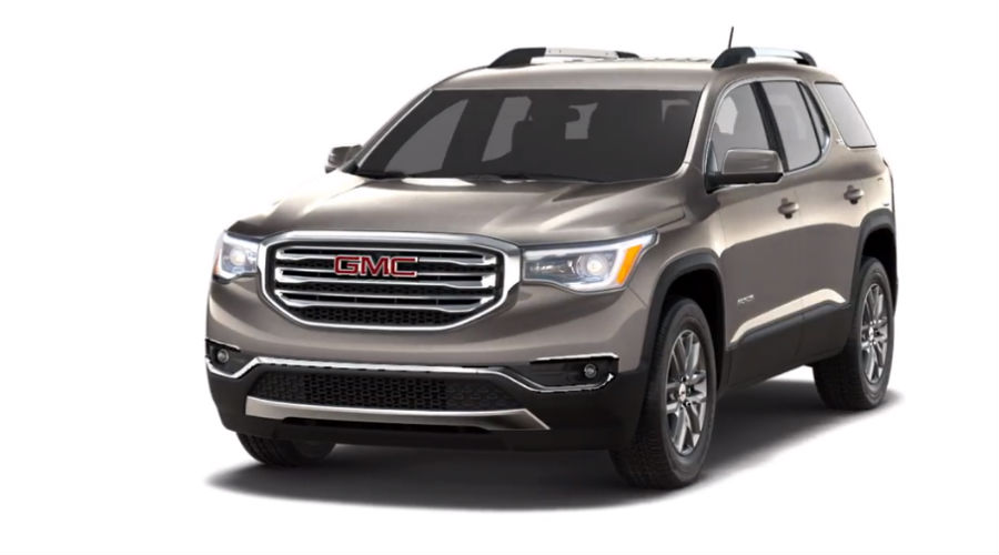 gmc acadia pepperdust metallic traverse chevy options chart gm colours