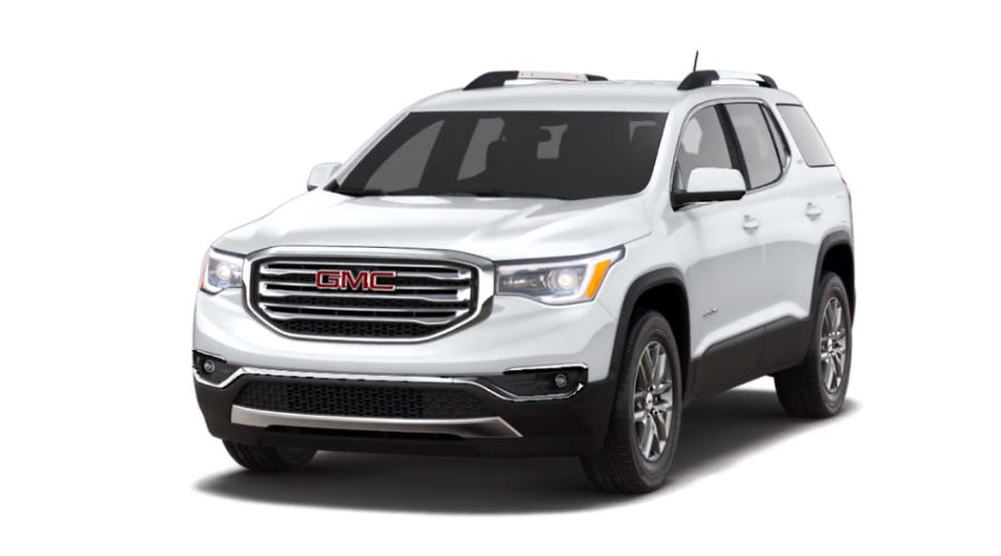 2019 GMC Acadia in Summit White