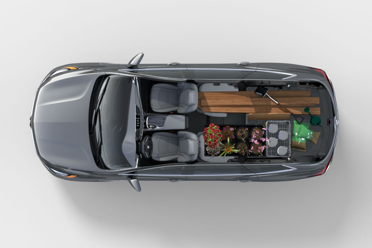 Buick Enclave Seating Capacity >> Check Out The Cargo Passenger Space Of The 2019 Buick Enclave