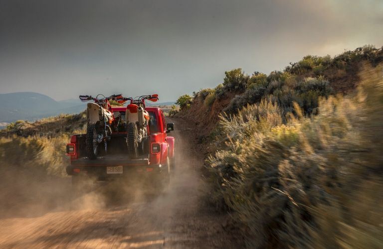 2020 Jeep Gladiator towing and payload capacities