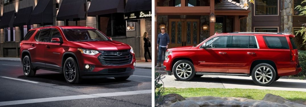 What are the Differences Between the 2019 Chevy Traverse's