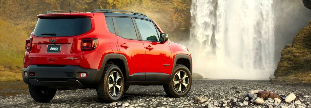 Tackle tough off-road terrain with the new Jeep Renegade