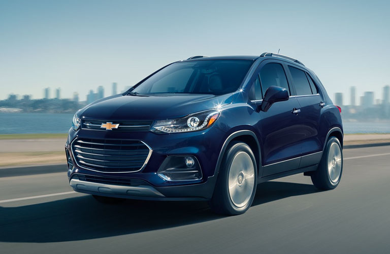 2019 Chevy Trax driving on highway