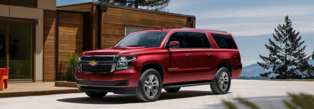 2020 Chevy Suburban passenger and cargo space