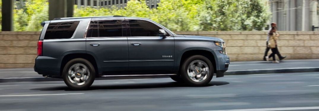 What is the maximum luggage volume of the 2020 Chevrolet Tahoe?