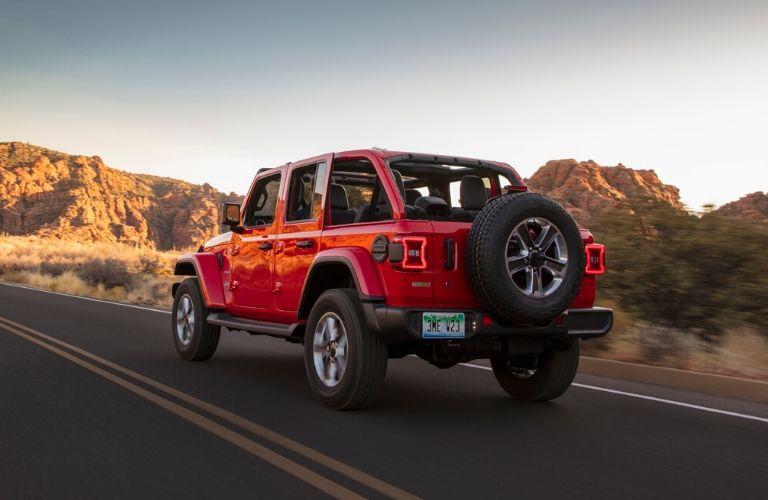2020 Jeep Wrangler EcoDiesel rear side