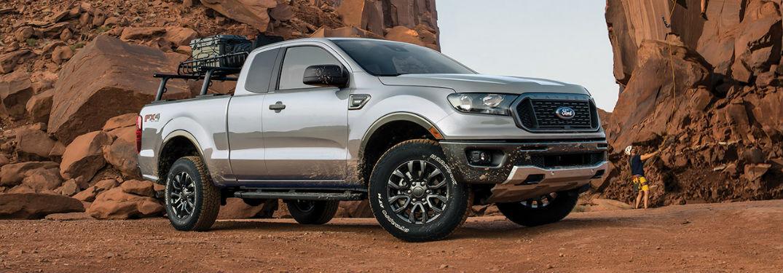 2020 Ford Ranger in gray