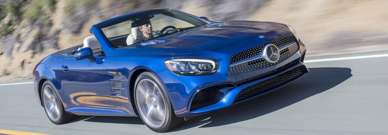 2018 Mercedes-Benz SL Roadster in blue