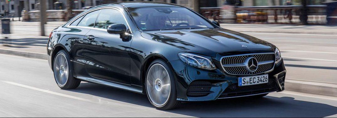 2018 Mercedes-Benz E-Class in Black