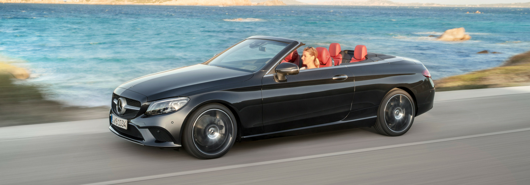 ... 2019 Mercedes Benz C Class Cabriolet Side View