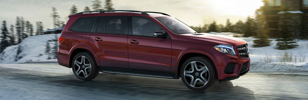 2018 MB GLS on the road