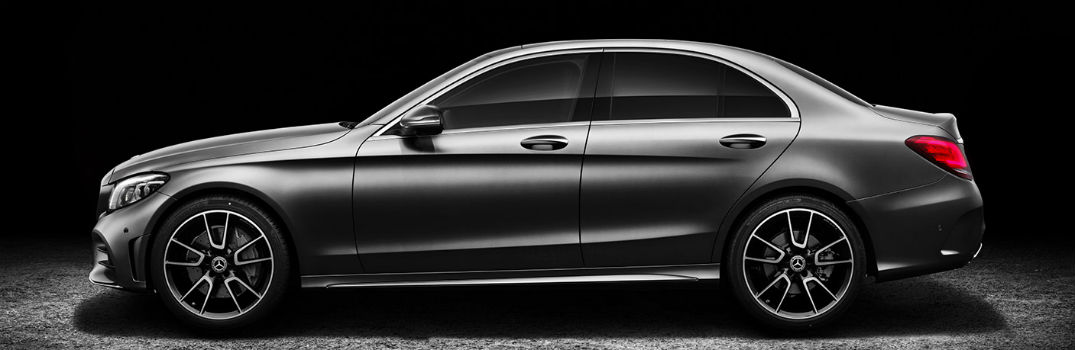 2019 MB C-Class side exterior profile
