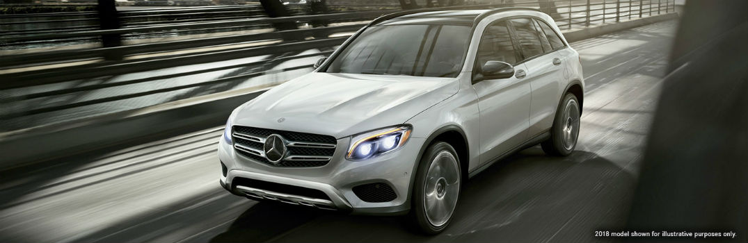2019 MB GLC on the road
